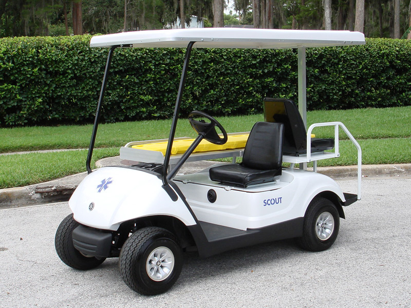 Scout Mini Ambulance Medical Golf Cart Emt Golf Cart
