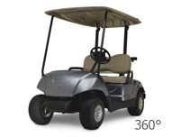 Yamaha Drive Golf Cart - 360 View