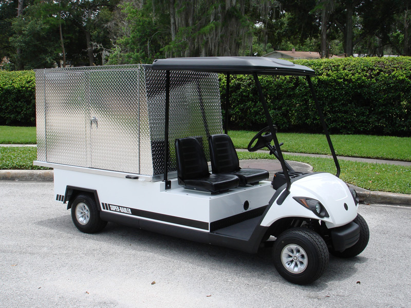 Utility Golf Carts - Van Golf Carts - Diversified Golf Cars ... on used gas powered golf carts, old yamaha golf carts, flatbed golf carts, s s carts, enclosed golf carts, yamaha electric carts,