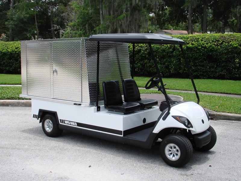 Utility Golf Carts - Van Golf Carts - Diversified Golf Cars ... on delivery cart, gem food truck cart, street cart, van pool, pushing grocery cart, crazy cart,